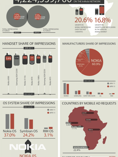 African Market Overview Infographic