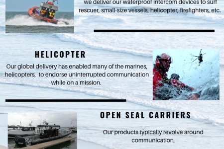 Agile Boat Intercom System for your Rescue vessel  Infographic