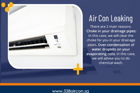 Air Con Leaking Infographic
