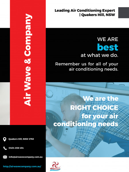 Air Conditioning Expert in Quakers Hill, NSW Infographic