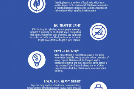 Air Freight vs Sea Freight For International Relocations Infographic