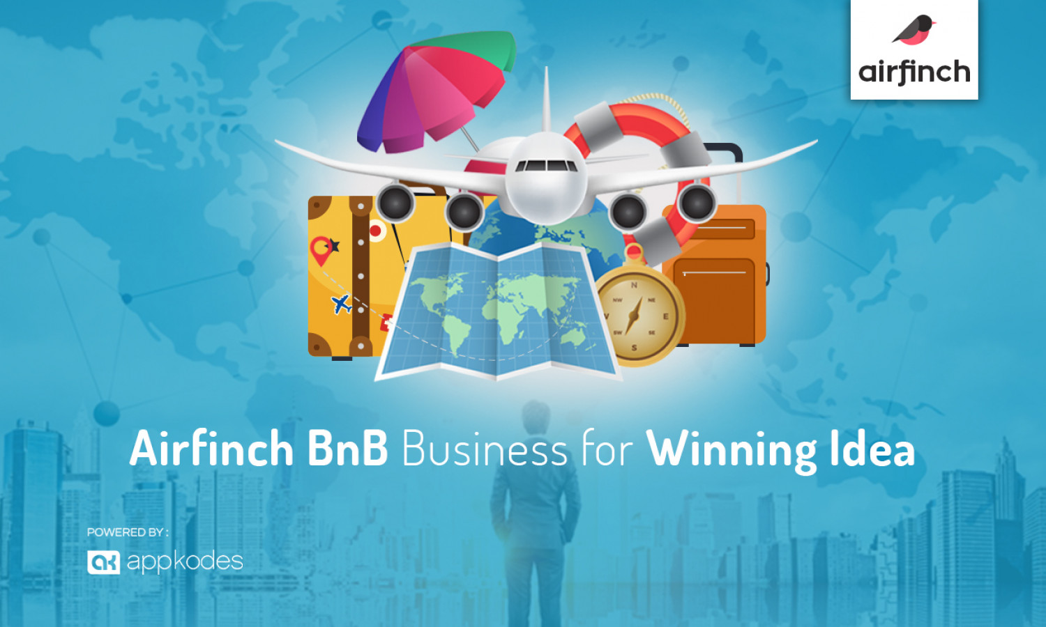 Airfinch BnB Business for Winning Idea Infographic