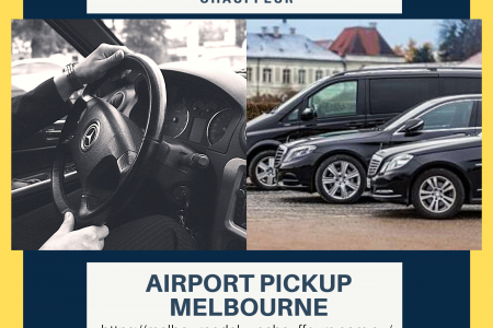 Airport Pickup Melbourne Services Infographic