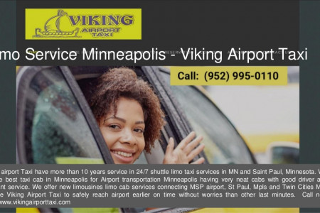 Airport Transportation Minneapolis MN | 24/7 Taxi Services - Viking Airport Taxi Infographic