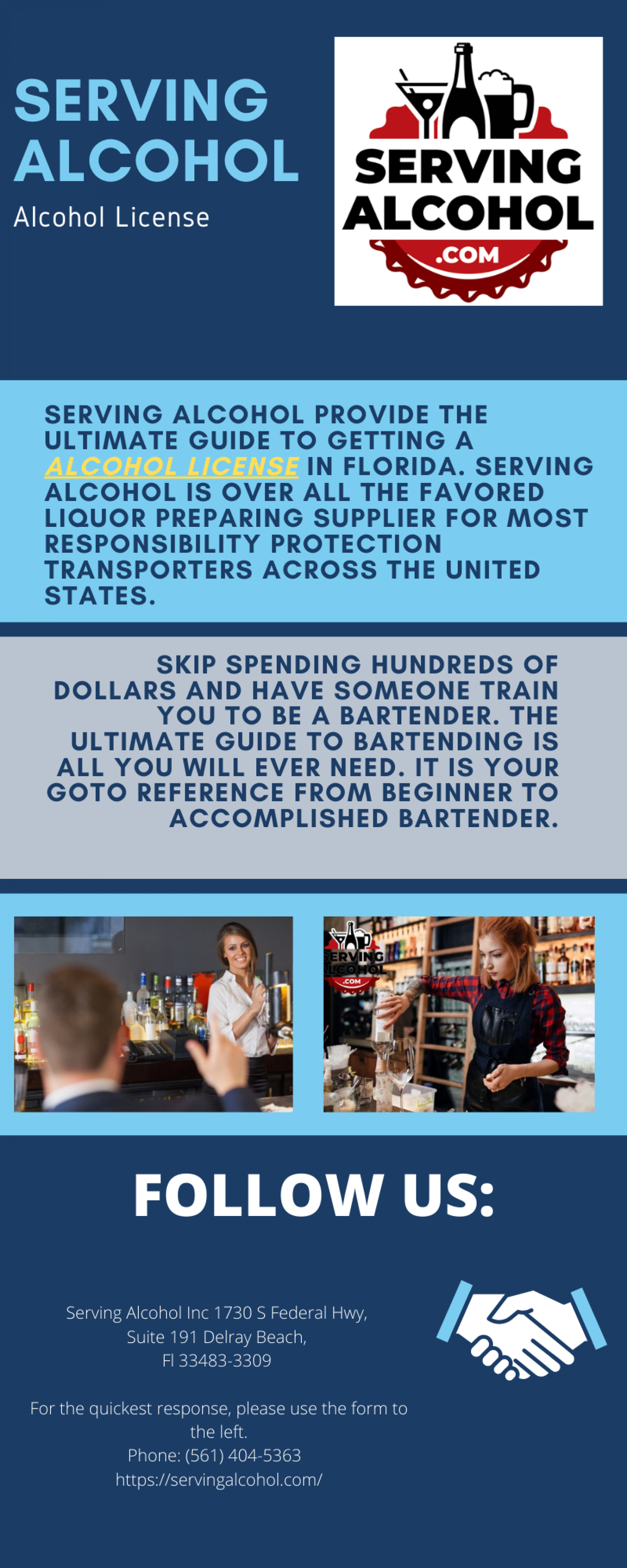Alcohol License Infographic