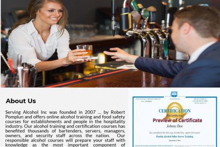Alcohol Seller Training Infographic