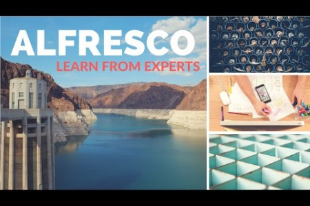 ALFRESCO Online Training by an Expert Trainer Infographic
