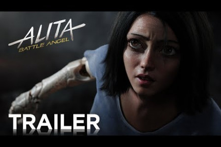 Alita: Battle Angel – Official Trailer Released Infographic