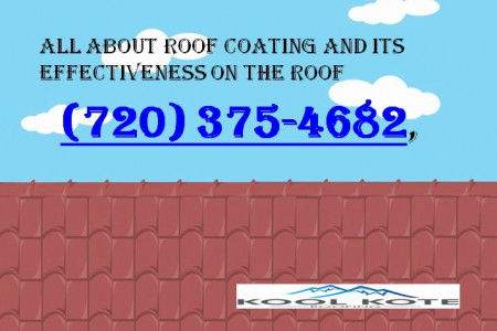 All About Roof Coating And Its Effectiveness on the Roof Infographic