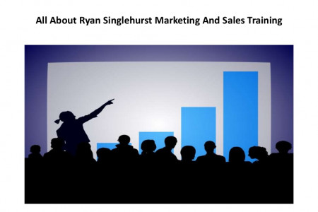 All about ryan singlehurst marketing and sales training Infographic