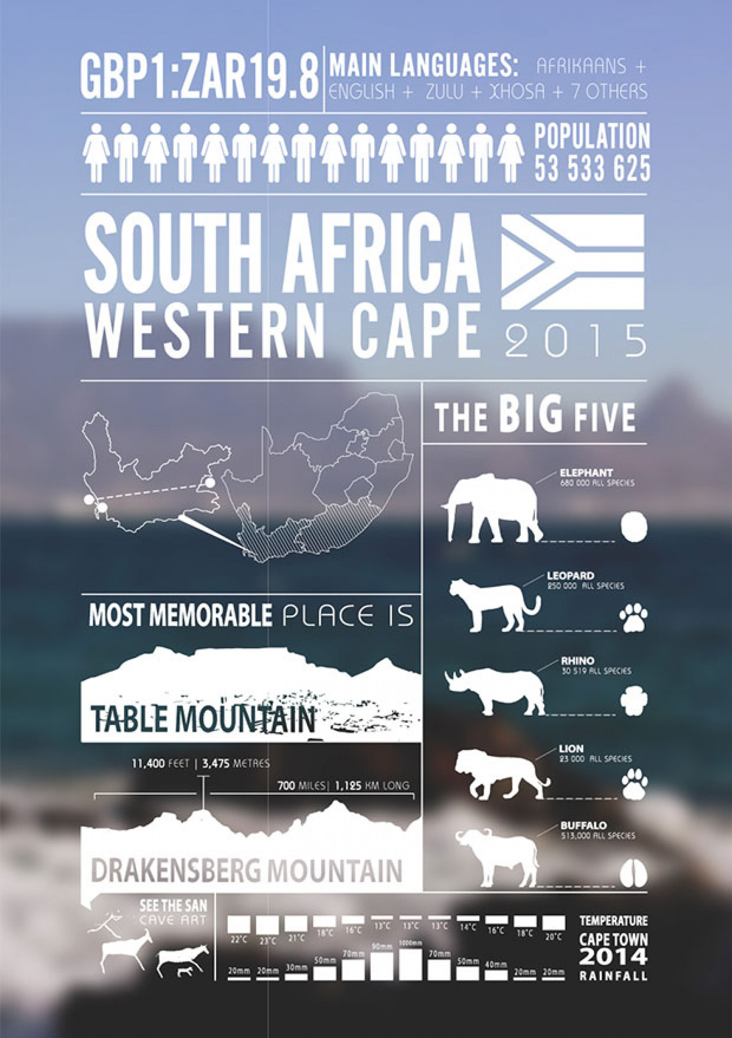 All about South Africa Infographic