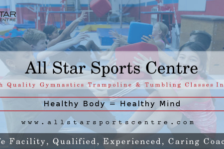 All Star Sports Centre - Offer High Quality Gymnastics Classes Infographic