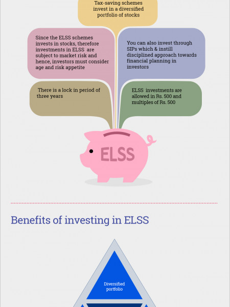 All You Need To Know About Equity Linked Savings Schemes (ELSS) Infographic