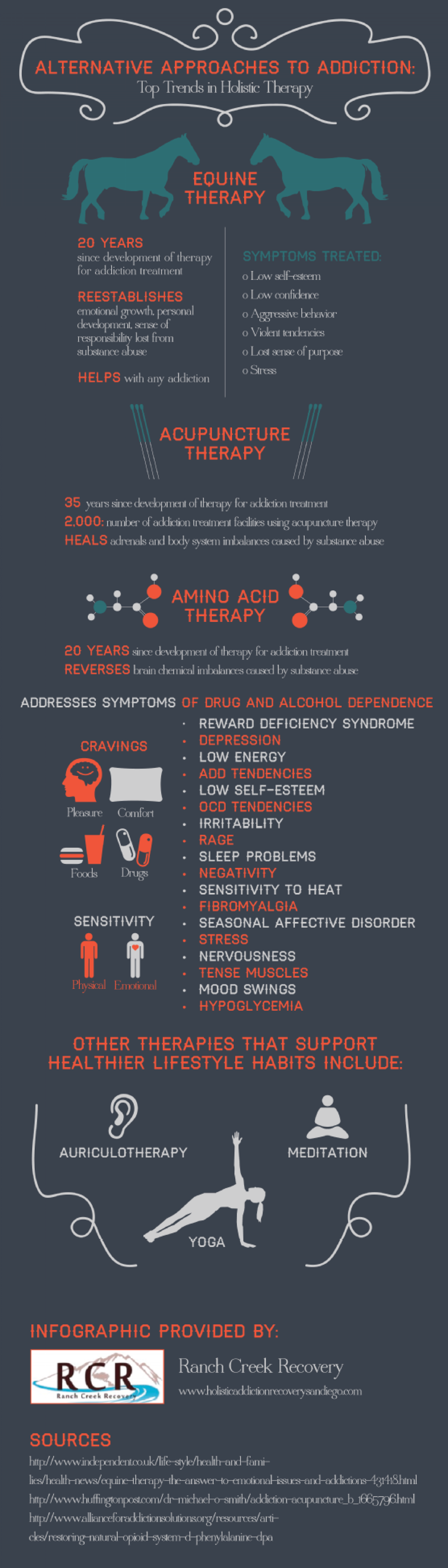Alternative Approaches to Addiction: Top Trends in Holistic Therapy Infographic