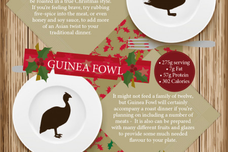 Alternative Meat for Your Christmas Dinner Infographic