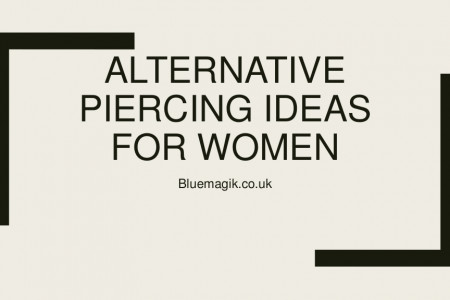 Alternative Piercing Ideas For Women Infographic