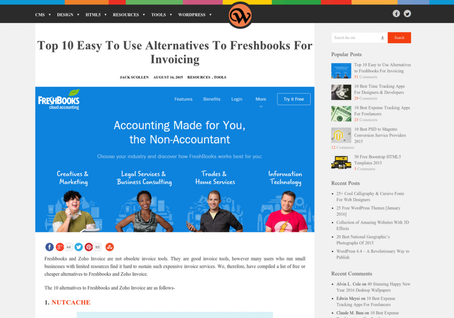 See This Report on Freshbooks Alternatives