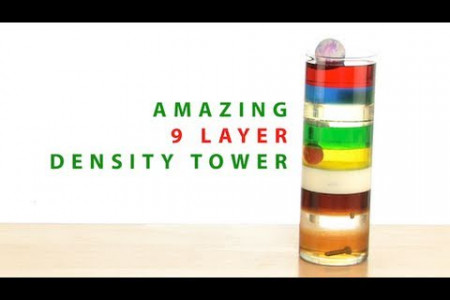 Amazing 9 Layer Density Tower Infographic