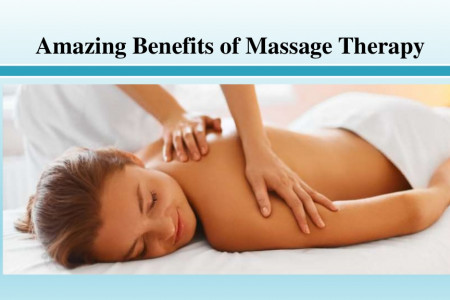 Amazing Benefits of Massage Therapy Infographic