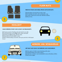 Amazing DIY Car Cleaning Tips With Baking Soda [Infographic]
