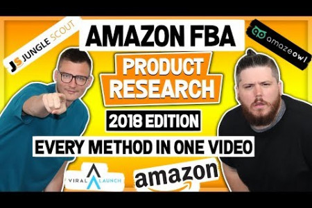 Amazon fba product research 2018 Infographic
