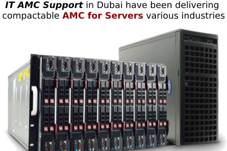 AMC for Servers in your Industrial Hardware & Networking Infographic