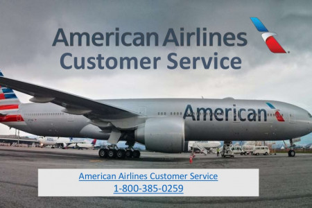 American Airlines Customer Service - 1-800-385-0259 Infographic