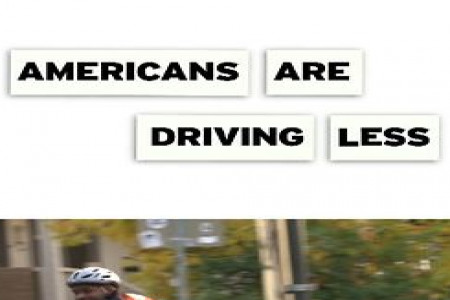 Americans Are Driving Less Infographic