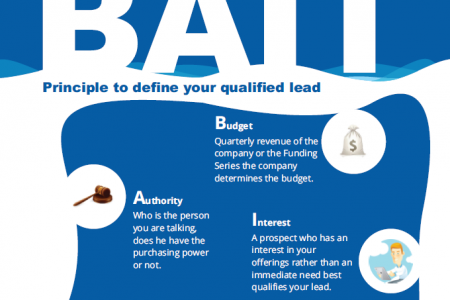 An innovative approach to review the features of a sales qualified lead Infographic