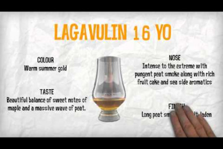 An introduction to the Lagavulin 16 YO  Infographic