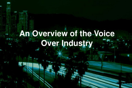 An Overview of the Voice Over Industry Infographic