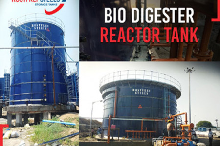 ANAEROBIC DIGESTOR TANK Infographic