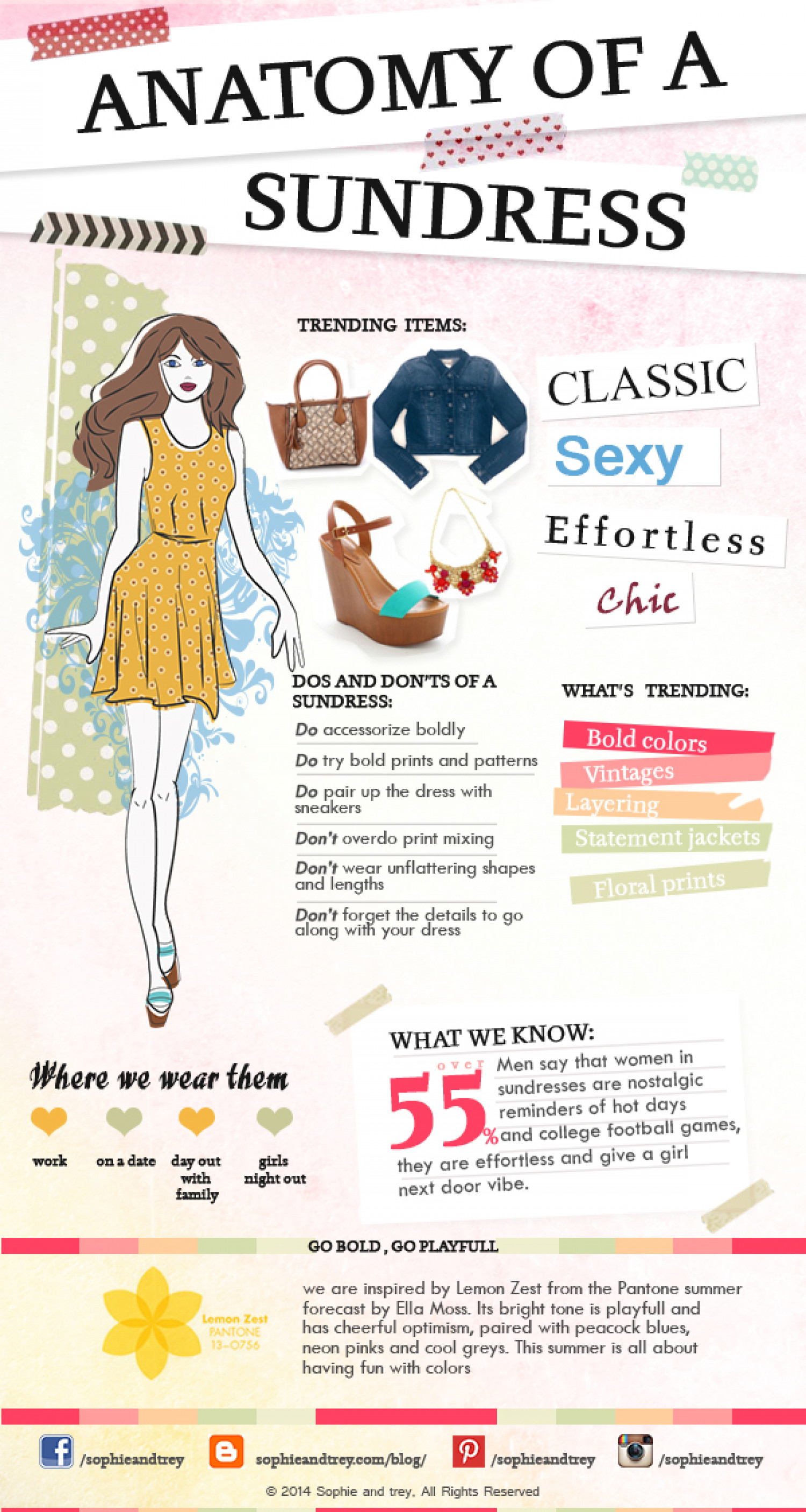 Anatomy of a Sundress Infographic