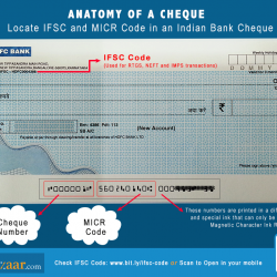how to find out micr code on cheque