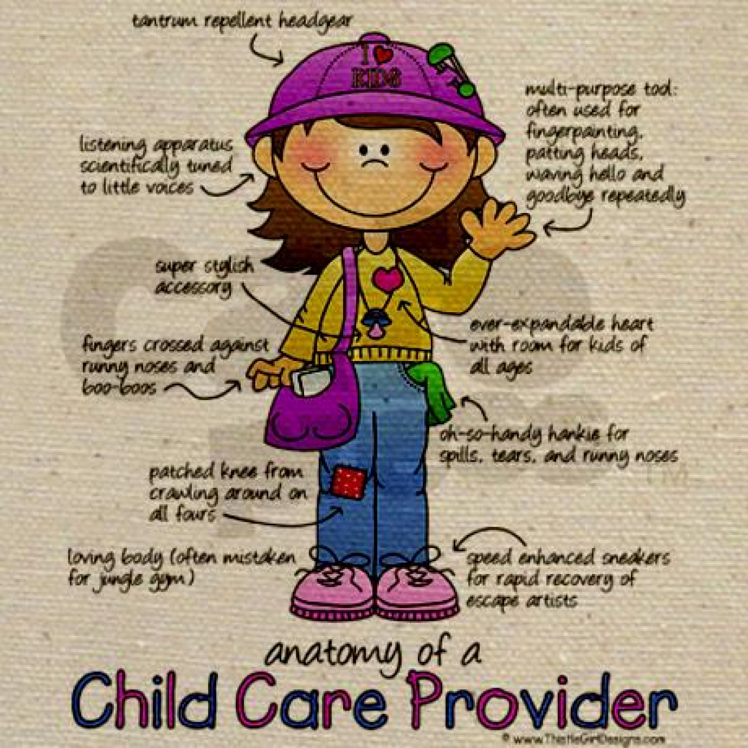 Anatomy of a Child Care Provider | Visual.ly