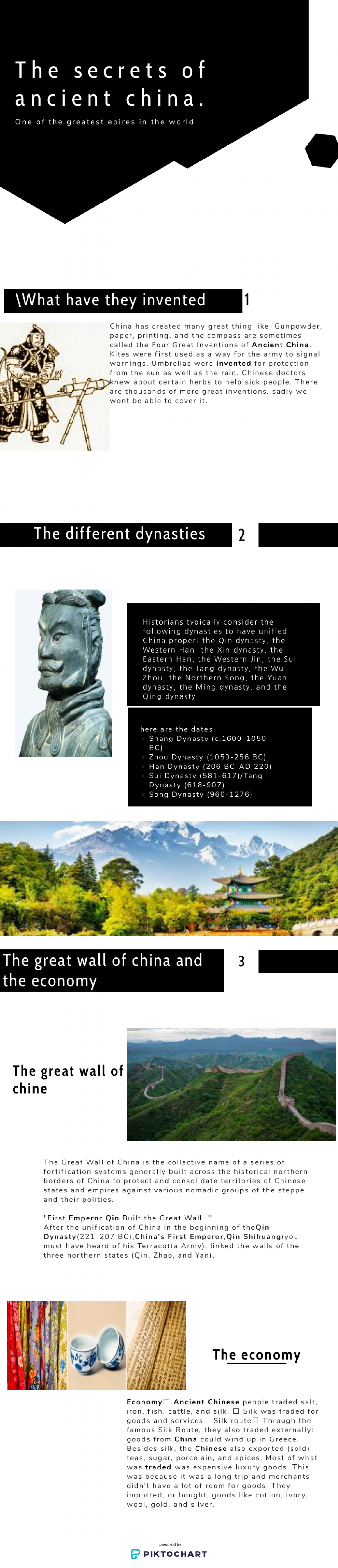 Ancient China Infographic
