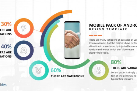 Android Mobile Presentation Template Pack | Free Download Infographic