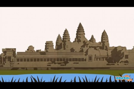 Angkor Wat Temple History and Facts Infographic