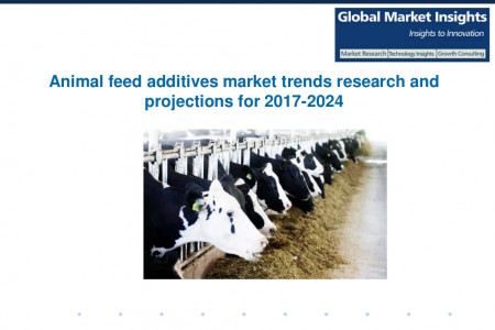 Animal feed additives market trends research and projections for 2017-2024 Infographic