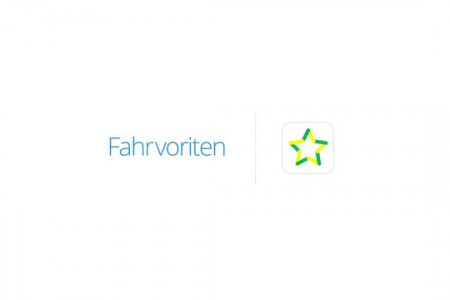Animated video for the German App Fahrvoriten Infographic