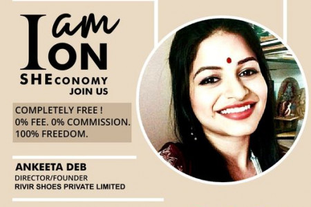 Ankeeta Deb is on SHEconomy Infographic