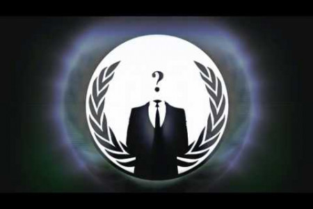 Anonymous: A Message to Americans Infographic