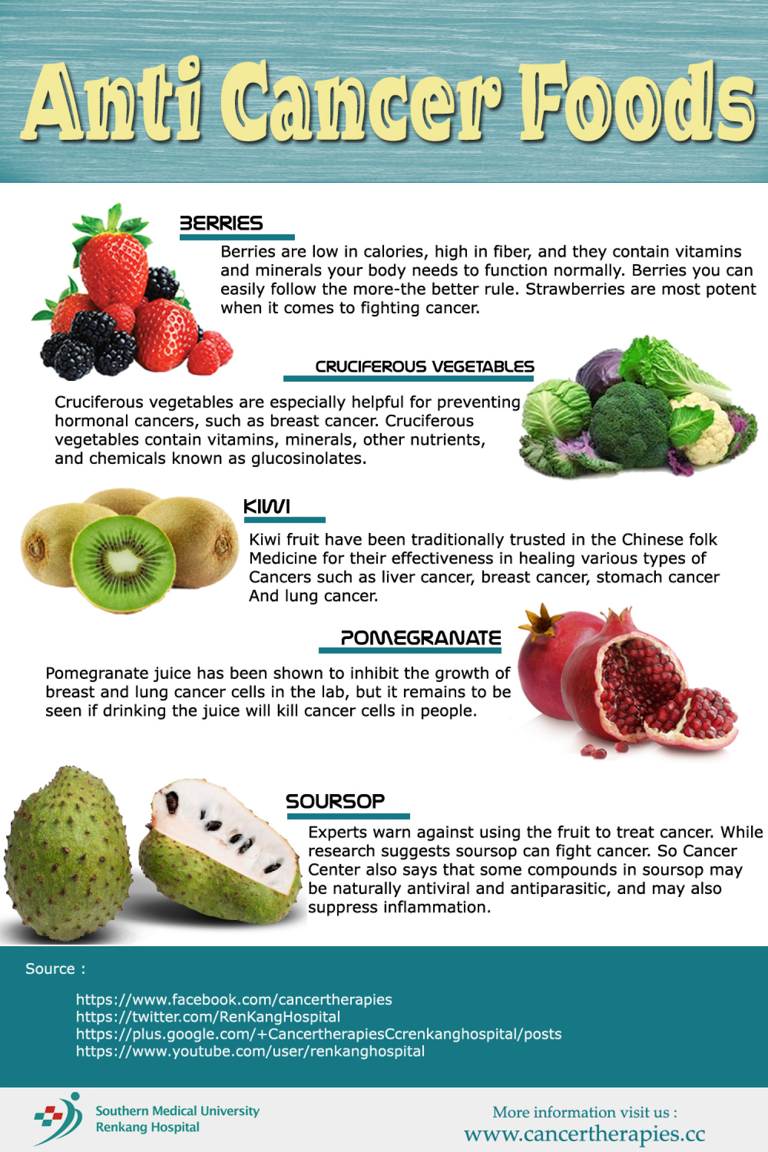 strongly recommend these 8 common foods with anti-cancer ingredients!