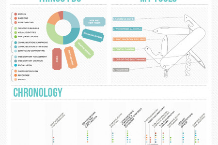 Antonio di Vico | Visual CV Infographic