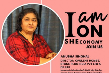 Anubha Singhal Is On SHEconomy Infographic