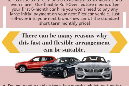 Any Car Online |  Short Term Car Leasing With no Credit Check Infographic