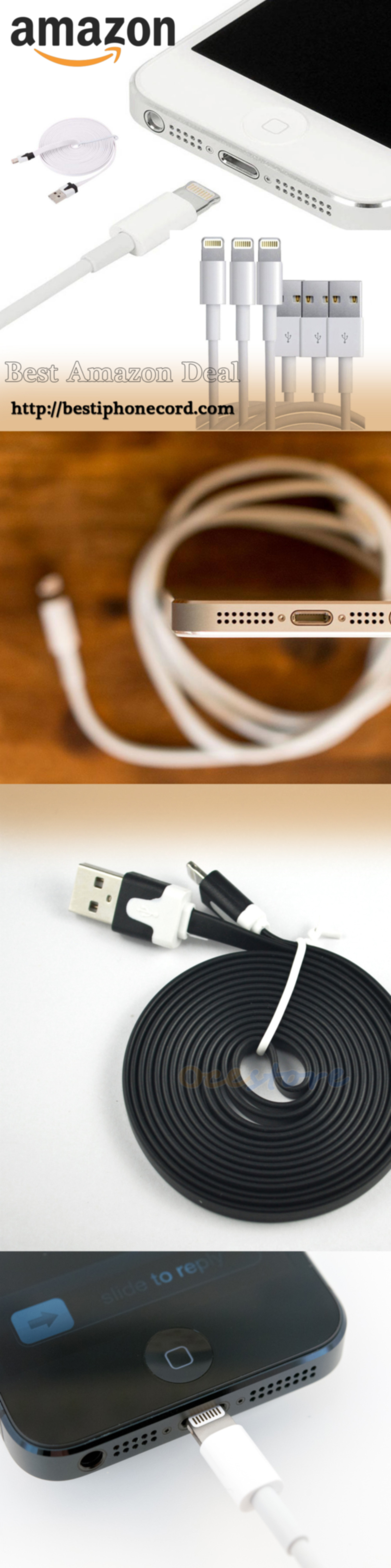Apple iPhone cable long Infographic