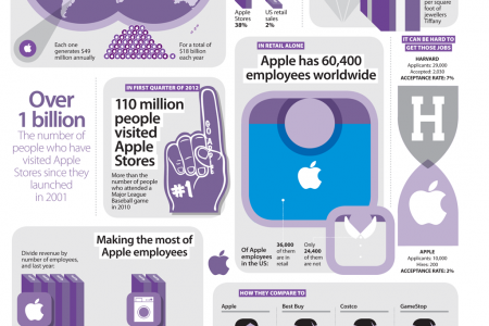 Apple Stores Infographic