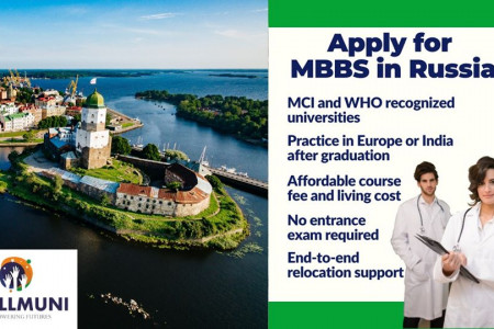 Apply For MBBS In Russia Without Any Entrance Exam Infographic
