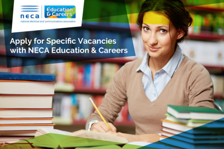 Apply for Specific Vacancies with NECA Education & Careers Infographic